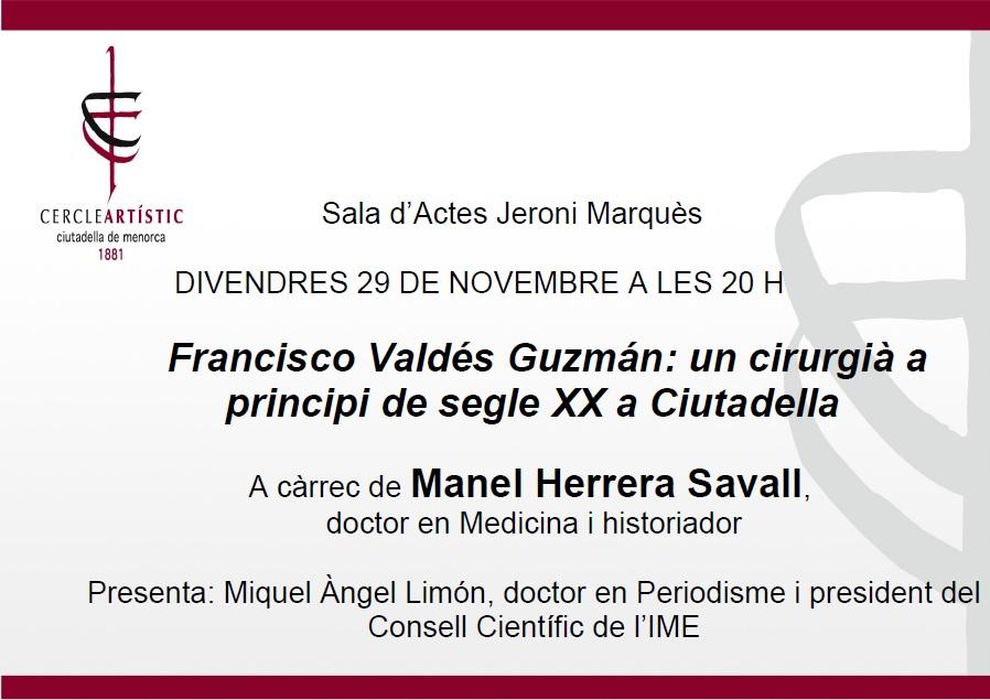 Conferència Manel Herrera